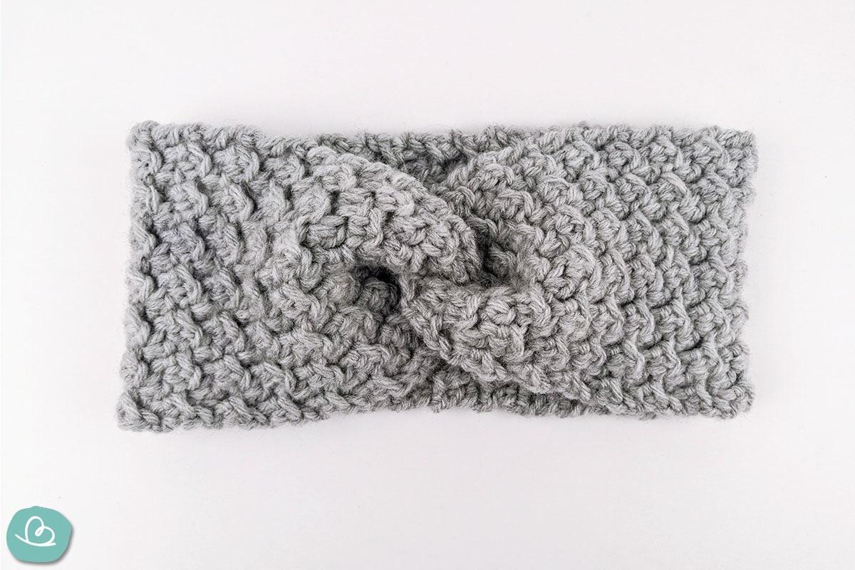 Twist Strinband in grau